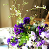 【1月レッスンリポート】紫色のグラデーションブーケ|花のある日常の画像