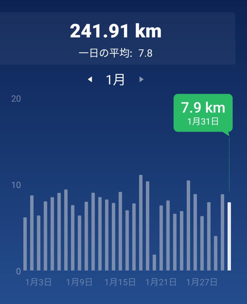 歩い た 距離