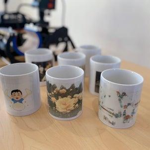 記念マグカップ作りイベントの画像