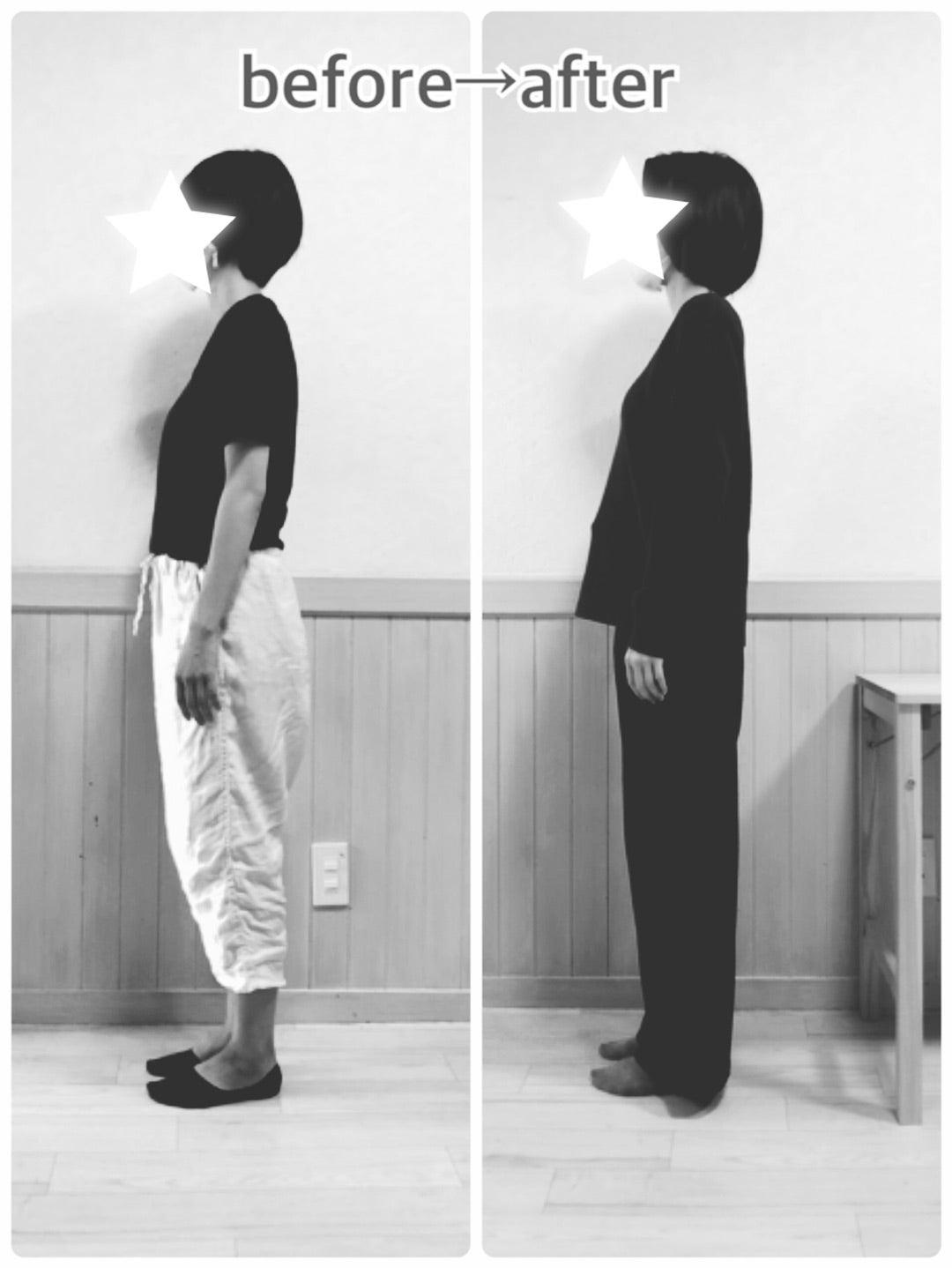 産後骨盤矯正6回を終えて☆before→after☆腰痛改善