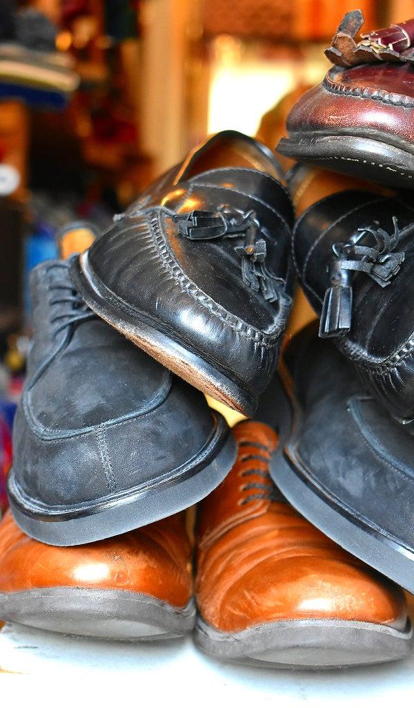 ブランドUSAレザーシューズ革靴@古着屋カチカチ