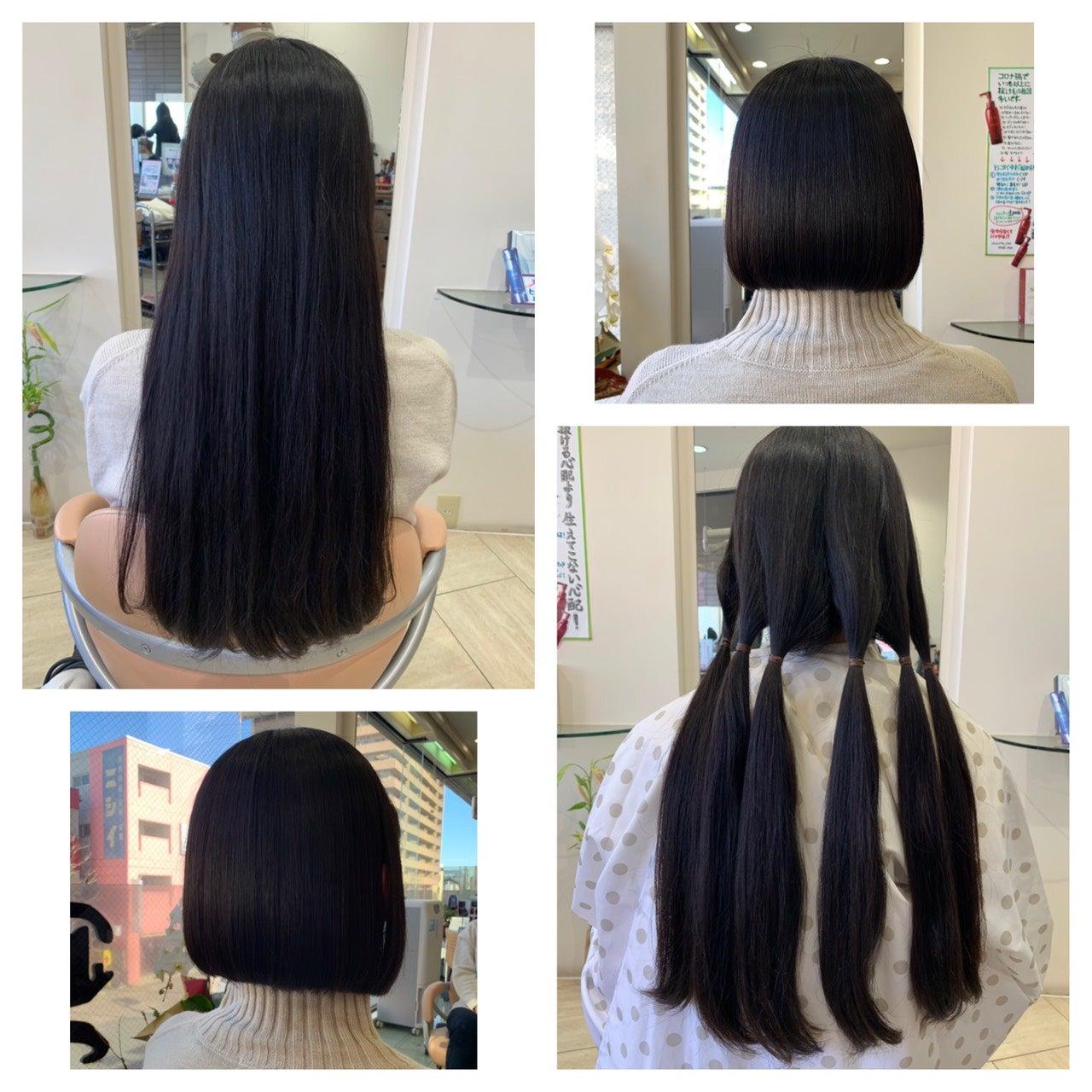 続々とヘアドネーション③