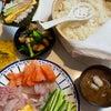 【節分終了〜】毎年恒例の豆まきと恵方巻きはそれぞれが手巻き寿司と決めています♪#ま...の画像