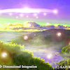スピリチュアルアート Spiritual Art ヒーリングアート UFO 絵 次元統合の画像