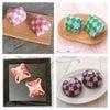 【募集】市松模様の上生菓子の画像