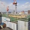 松江センターアゼリア工事進捗状況の画像