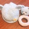 手編みのベビーグッズ♪の画像