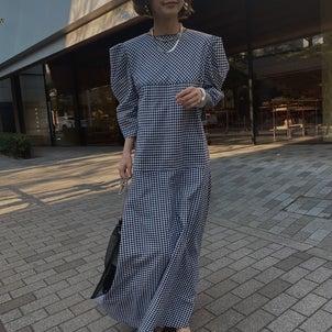 即完売のMEDI GINGHAM CHECKパフスリーブドレスが緊急再販売決定♡の画像
