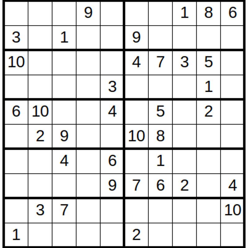 問題集1 ナンプレ 20