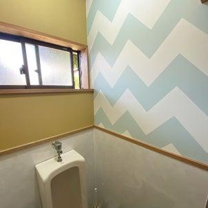 暗くて怖いトイレを楽しい空間に。の画像