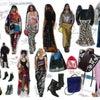 個性的でクールなファッションスタイル:ドラマティックファッションの画像