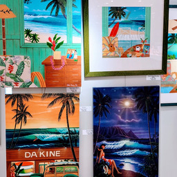 画像 ジェイアール京都伊勢丹で開催!~楽園の彩~ ヒロクメが描くハワイの世界展 の記事より 2つ目