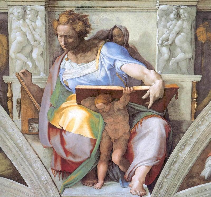 ミケランジェロの預言者 | 絵を見よう