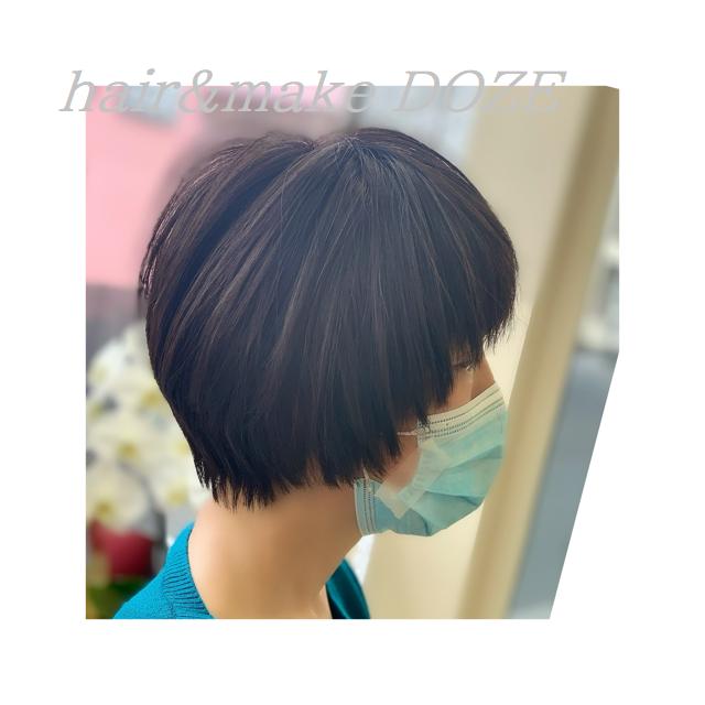 髪質改善プレミアムトリートメントでショート特集②