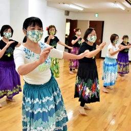 画像 Mahina O Ka Moana Pakipika の茨木教室でクプナの素敵なレッスンを取材! の記事より 11つ目