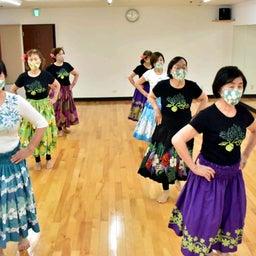 画像 Mahina O Ka Moana Pakipika の茨木教室でクプナの素敵なレッスンを取材! の記事より 4つ目