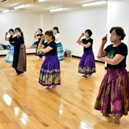画像 Mahina O Ka Moana Pakipika の茨木教室でクプナの素敵なレッスンを取材! の記事より 15つ目