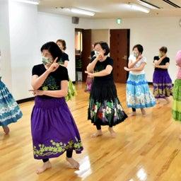 画像 Mahina O Ka Moana Pakipika の茨木教室でクプナの素敵なレッスンを取材! の記事より 6つ目