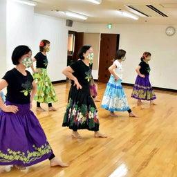 画像 Mahina O Ka Moana Pakipika の茨木教室でクプナの素敵なレッスンを取材! の記事より 2つ目
