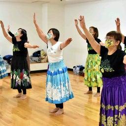 画像 Mahina O Ka Moana Pakipika の茨木教室でクプナの素敵なレッスンを取材! の記事より 13つ目