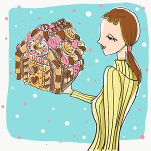 絵話 チョコレートのお菓子のおうちの画像