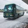 初★冬の北海道 峠越え(バスにて)の画像