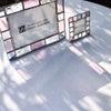 セミオーダーで一番人気!ピンク&ペールブルー&クリアの写真立ての画像