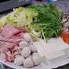 通所の行事食「ヘルシー豆乳鍋」の画像