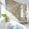 お掃除しやすいお風呂の画像
