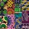 アフリカンターバン&バッグsetの画像