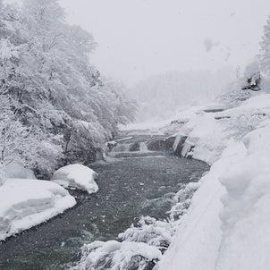 糸魚川市に大雪警報が発表の画像
