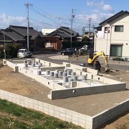 画像 西尾市のエアサイクルの家 基礎工事完了! の記事より 1つ目