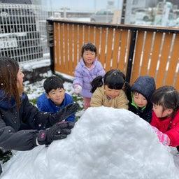 画像 雪あそび⛄️きりん組 の記事より 4つ目