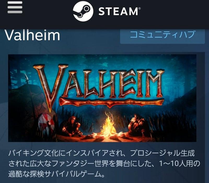 Steam ヴァルヘイム