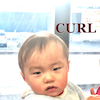 カールズ 赤ちゃん記念筆ヘアスタイルの画像