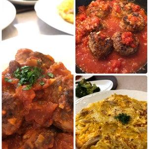本日のレッスン イタリアの家庭料理の画像