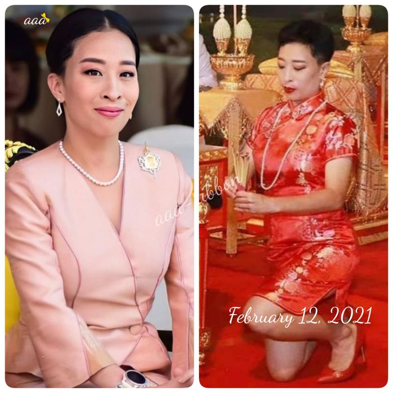 タイ 国王 王妃