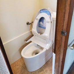 画像 築古戸建リフォーム トイレ和→洋 の記事より 5つ目