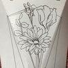 ポストを開けるとお花が届いている♪お花の定期便「Bloomee LIFE」をお試ししました~~の画像