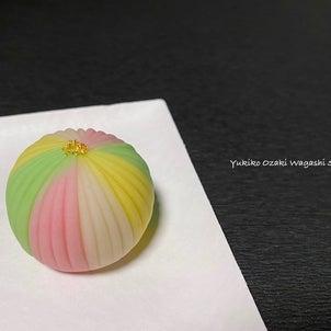 和菓子教室♪作り方動画公開中!春手毬☆カラフルな手毬を作ってみよう♪ひな祭りにもオススメですの画像