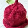りんごのトンガリ帽子の画像