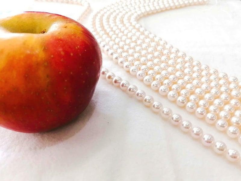 真珠パールネックレス糸替え・ジュエリー修理・アクセサリー修理・ジュエリーリフォーム・宝石修理・ネックレス修理・指輪リフォーム・necklace