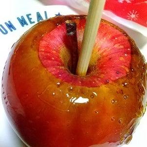 りんご飴♪顎が疲れました(;´Д`)の画像