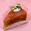 タルトタタン!28日のデコレーションケーキのご予約の画像