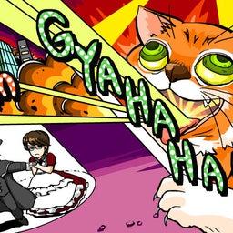 画像 「闇仮面と毒美人―ITプレゼンツ―」 水木しげるロードの猫が想像以上に妖怪だった[ROFL] の記事より 2つ目