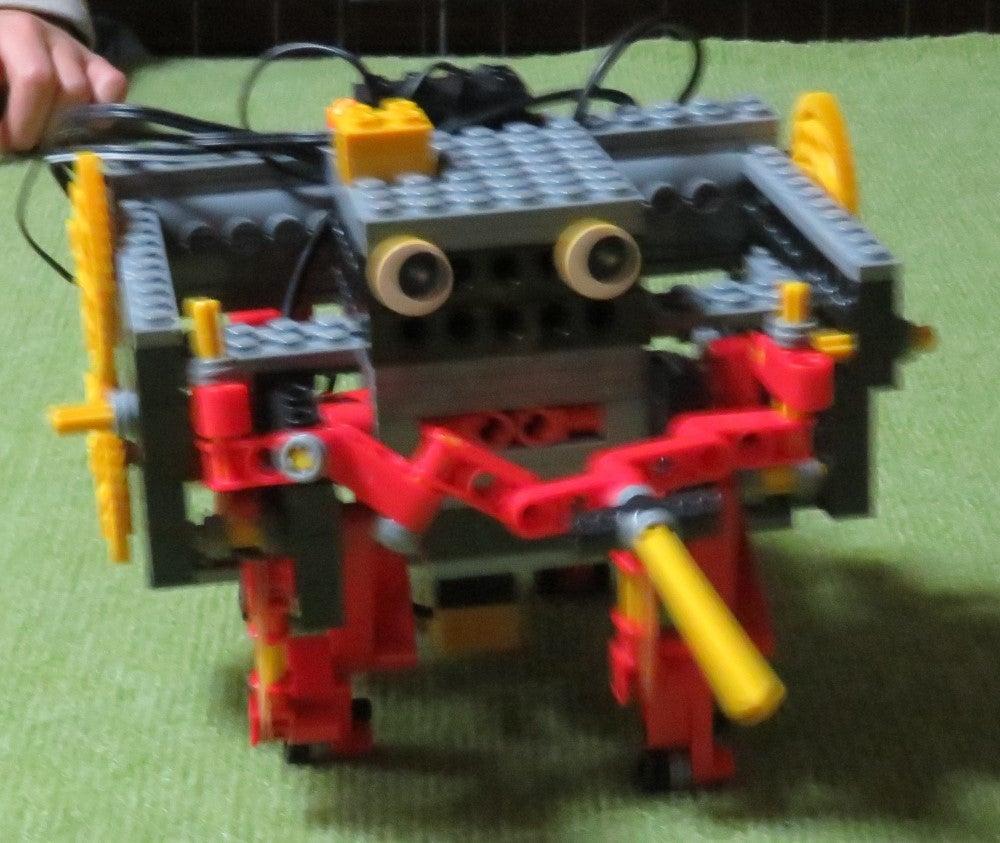 1月のアドバンスコースロボットの改造ロボットのご紹介
