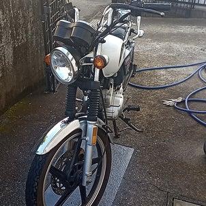 ヤフオクで買ったYAMAHAのやばそうなバイクが到着した。の画像