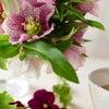 3月レッスンは桜を使った春の籠アレンジ|花のある日常の画像