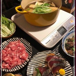 豚肉入りはりはり鍋の画像