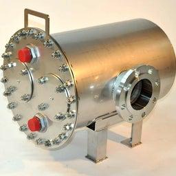 画像 炊飯排気熱、ゆで面排気熱対応型、無圧蒸気熱回収熱交換器 の記事より